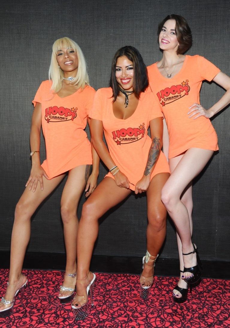 Hoops Cabaret Girls--